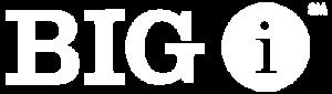 Big I Logo White